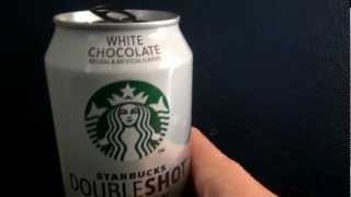 """tasty Buzz"" - Starbucks White Chocolate Double Shot Energy Review"