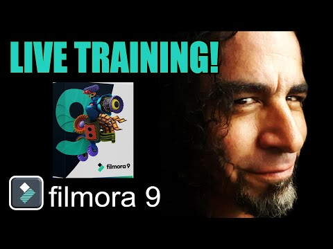 Filmora 9 LIVE Training!