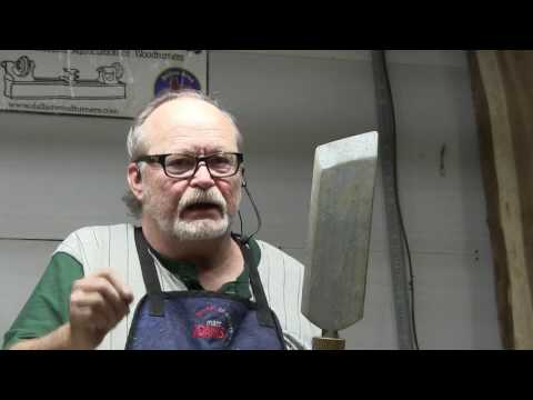 Dallas Woodturners 4/2017 Alan Lacer