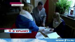 Севастополь: Проголосовало Половина Жителей. 2014