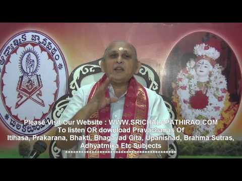 """Upadesa Saram"" Of Bhagavan Sri Ramana Maharshi : Day 18 : Sri Chalapathirao"