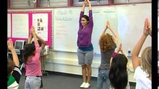 K D1a   Kindergarten Dance Lesson 1, Warm up