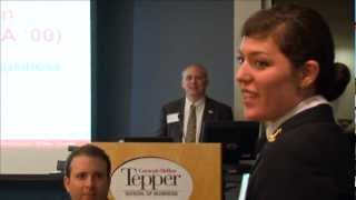 MBA Alum and Former Navy SEAL Alden Mills Meets with Tepper School Military Veterans Association