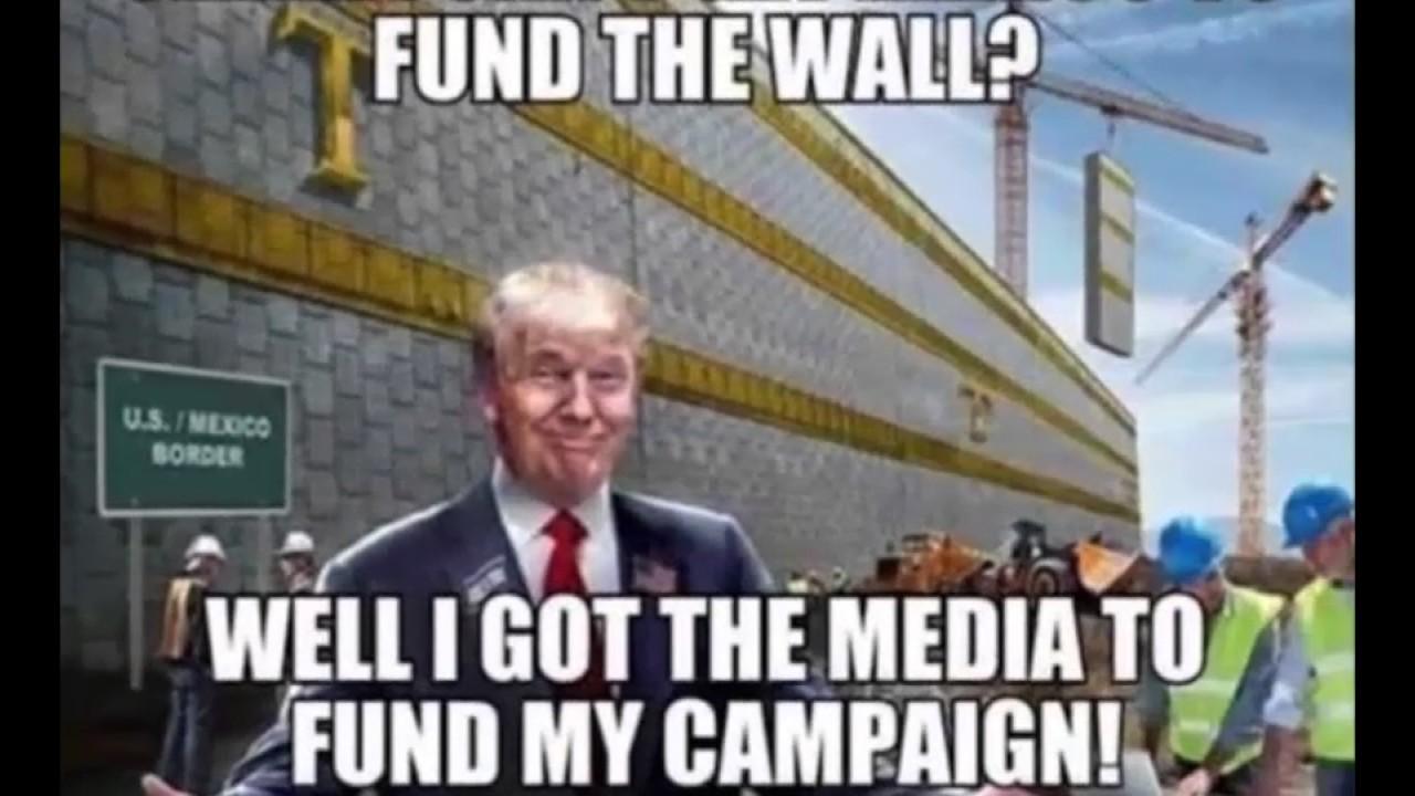 Donald trump wall meme really funny