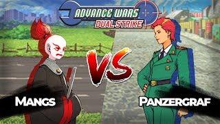 Advance Wars Dual Strike: Mangs vs Panzergraf