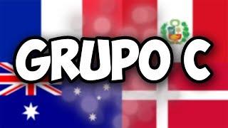 GRUPO C | FRANCIA - AUSTRALIA - PERÚ - DINAMARCA | SORTEO DEL MUNDIAL