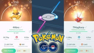 ¡FESTIVAL de BUENOS IVS en INTERCAMBIOS con SUERTE ASEGURADOS de Pokémon GO! [Keibron]