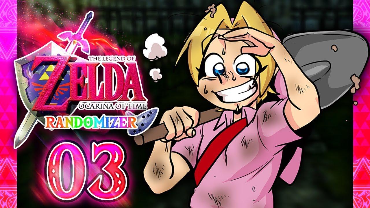 Lets Play Zelda Ocarina Of Time Randomizer Part 3 Gravedigger,BP8SE