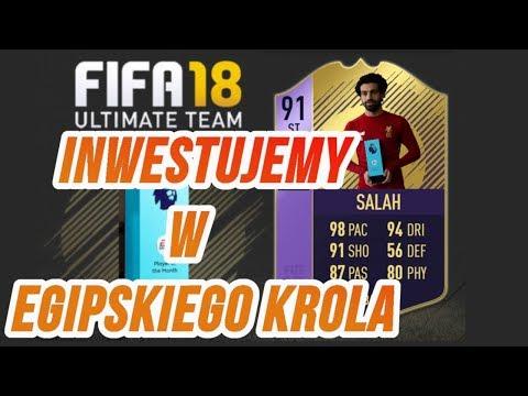 ZAINWESTUJ I ZARÓB - FIFA18 - EGIPSKI KRÓL ! BĄDŹ PIERWSZY !