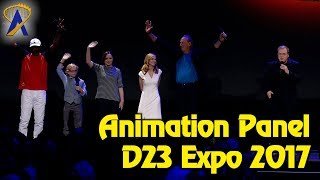 Highlights from Pixar and Walt Disney Animation panel at D23 Expo 2017