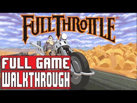 FULL THROTTLE REMASTERED Gameplay Walkthrough Part 1 Full Game - No Commentary