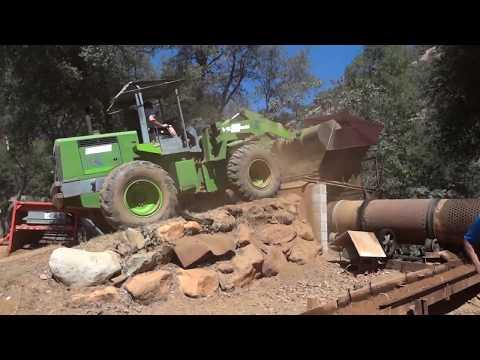 Gold Mining Trommel & Sluice Demonstration