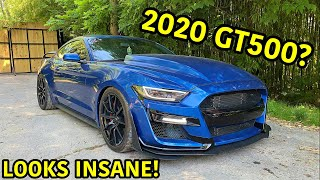 Our Wrecked 2017 Mustang GT Gets A GT500 Conversion!!!