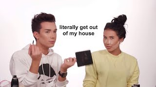 jaclyn hill annoying james charles for 3 minutes straight