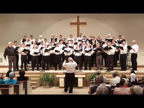 Now the Day is Over - Hartville Men's Choir (lyrics in description)