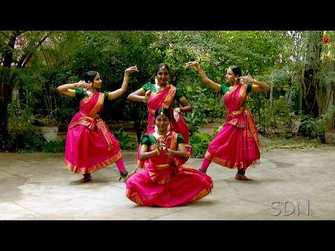Mahalakshmi Kouthvam - Group presentation - Sridevi Nrithyalaya - Bharathanatyam Dance