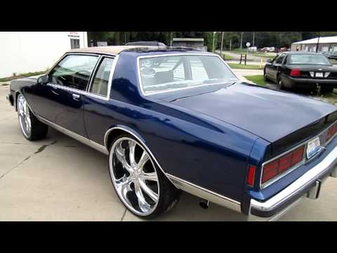 87 chevy caprice on 28 s whole car done by xcluzive autoworkz video 87 chevy caprice on 28 s whole car