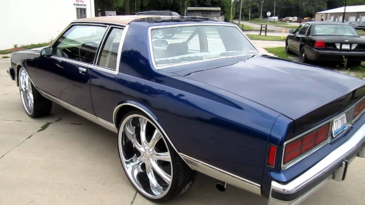 Chevy Caprice On 22s