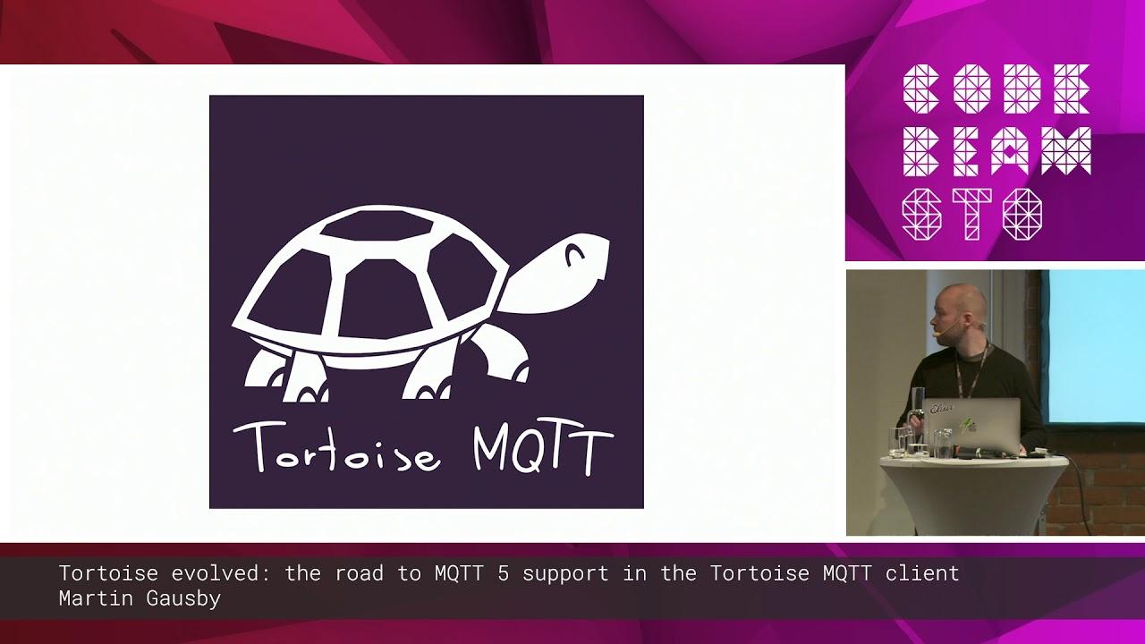 Tortoise evolved: MQTT 5 support in the Tortoise MQTT client