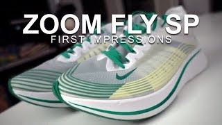 ZOOM FLY SP - FIRST IMPRESSIONS