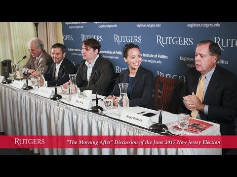 """June 2017 Election: """"Morning After"""" Discussion at Eagleton Institute"""