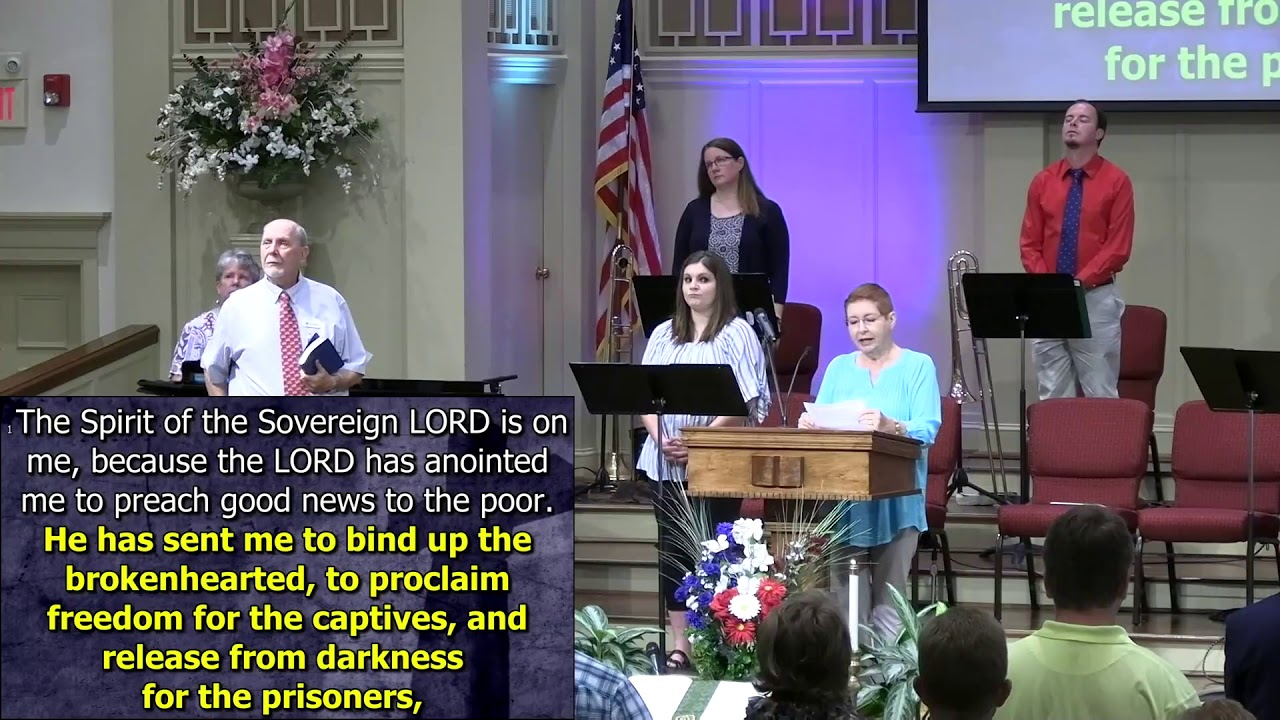 July 5, 2020 Service at First Baptist Thomson [Trimmed], Streaming License 201531172