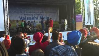 Debi sings live at vaisakhi mela 2014 in lampton park hounslow