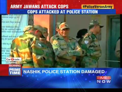 Army Jawans Attacked