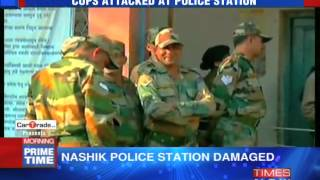 Army Jawans Attacked Police Personnel