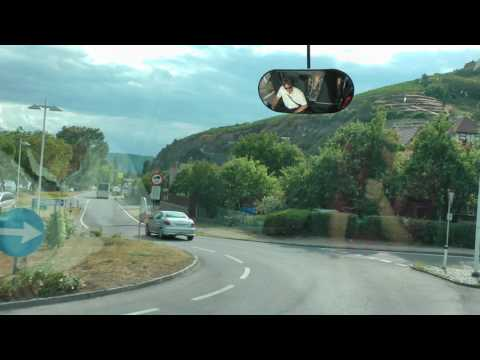 narrated Viking Cruises tour bus ride from Krems (Donau) to Durnstein in Austria