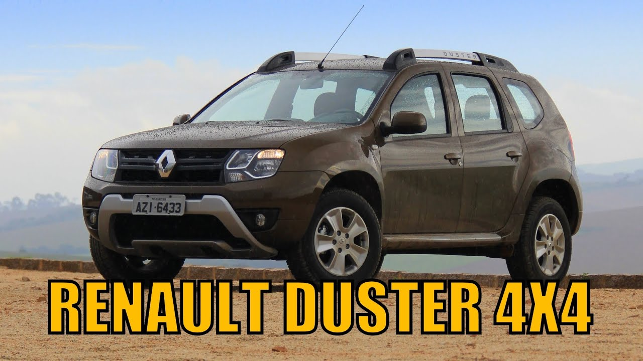 renault duster 4x4 2016 avalia o youtube. Black Bedroom Furniture Sets. Home Design Ideas