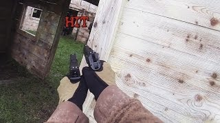 (airsoft Game) 20/10/13 ; Akimbo Gbb ; M870 Marui ; Thathenka (angry Target Fort) ; Gopro Hero3