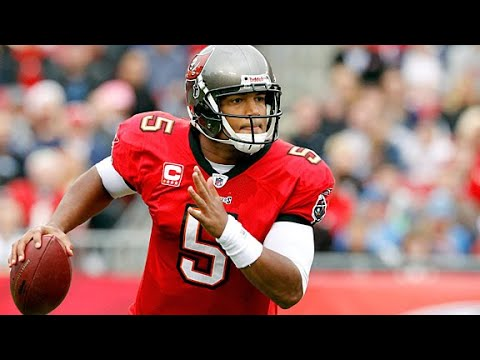 [OC] [Highlight] Today is QB Josh Freeman's 33rd birthday. The former Buccaneers 1st round pick threw 81 touchdown passes in his career, and has thrown the 2nd most touchdown passes in Bucs franchise history. To celebrate, here's every TD pass that Freeman threw in his NFL career