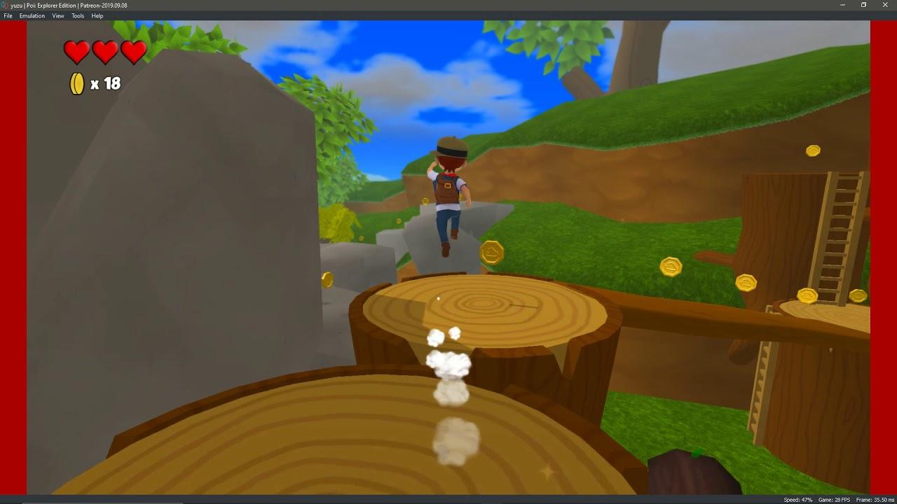 yuzu Patreon 9/8/19 4kIR |Poi: Explorer Edition GamePlay