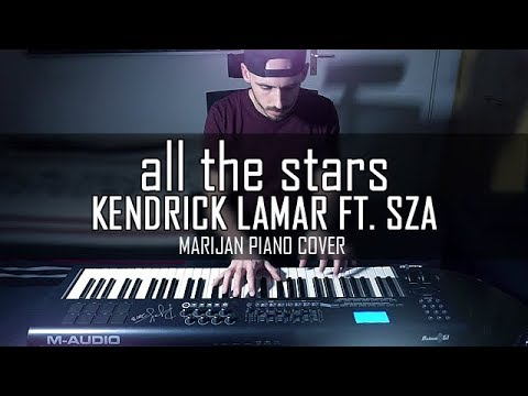 Kendrick Lamar ft. SZA - All The Stars - Black Panther | Piano Cover + Sheets