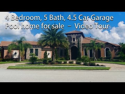 4 Bedroom 5 Bath Gorgeous pool home in gated community in Viera Florida
