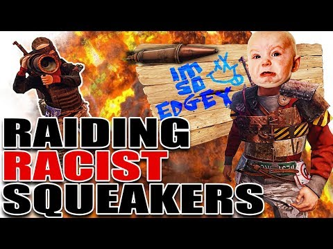Raiding TOXIC RACIST SQUEAKERS (Finding Justice) | Rust BP Survival