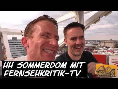 Hamburger Sommerdom 2017 mit Fernsehkritik-TV | Funfair Blog #127 [HD]