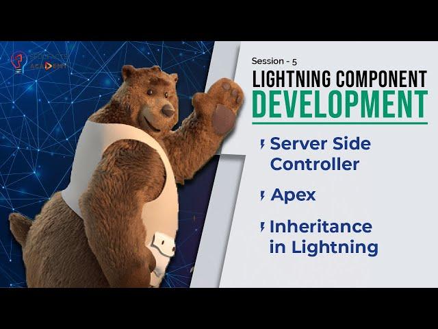 Lightning Component Development Day5 - Server Side Controller, Apex, Inheritance In Lightning