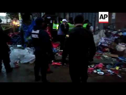 Bolivia - Eight people died from the explosion of a gas canister at a Bolivian Carnival parade with