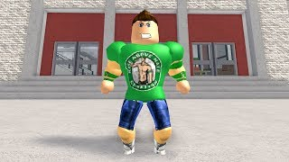 HOW TO BE JOHN CENA IN ROBLOXIAN HIGHSCHOOL!!