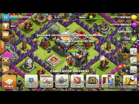 How To Make Clan With Invisible Name In Clash Of Clans In Hindi 2018 With Proof.