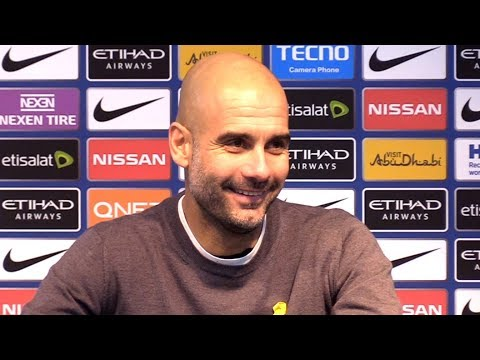 Manchester City 4-1 Tottenham - Pep Guardiola Post Match Press Conference - Premier League #MCITOT
