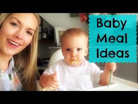 What my Baby Eats - Stage 2 - 8 Month Baby Meals