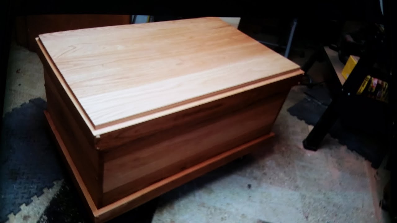 How to build a blanket chest pt 2 3