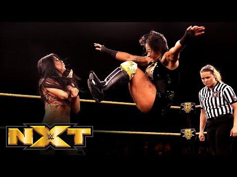 Xia Li vs. Aliyah: WWE NXT, Sept. 18, 2019