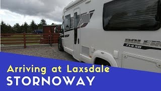 Arriving at Laxdale Holiday Park Stornoway | Scottish Highlands and Islands Tour Pt9