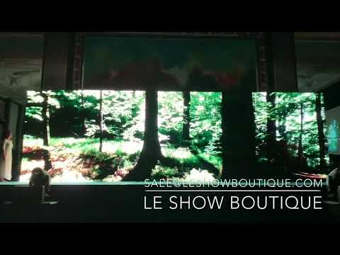 Video Mapping Interactive Dance By Le Show Boutique Singapore