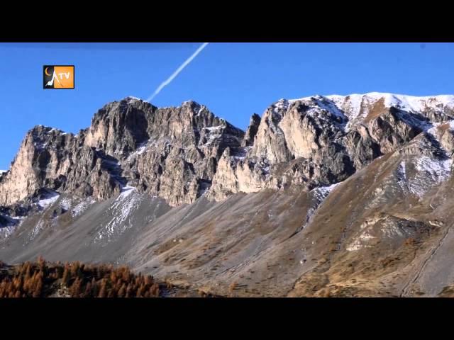 Le Queyras vue du ciel / AUTOMNE / paysages des Alpes