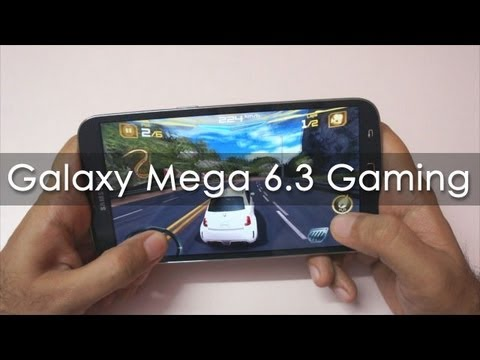 Samsung Galaxy Mega 6.3 Gaming Review